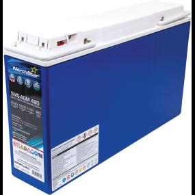 12V AGM 480 Slim Start/Deep Cycle Battery