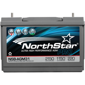 12V Group 31 AGM Start/Deep Cycle Battery