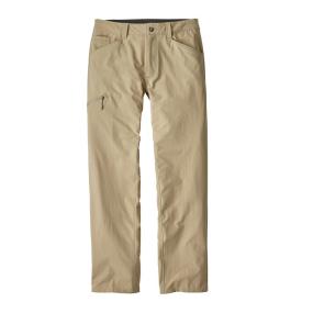 El Cap Khaki Front of Patagonia Men's Quandary Pants