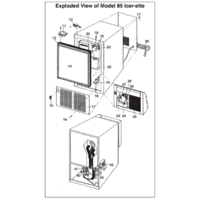 Raritan Icer-Ette Ice Maker - Replacement Module Board