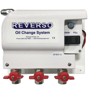 GP3010 Series Light Duty Oil Change System - 3 Valve