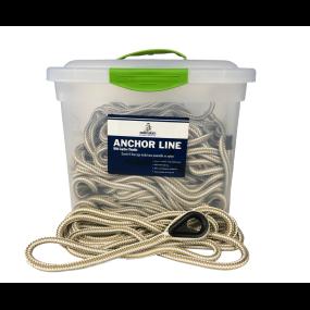 Samson HarborMaster Double Braid Nylon Anchor Lines - White and Gold