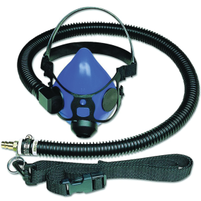 One-Person Half-Mask Supplied Air Respirator System