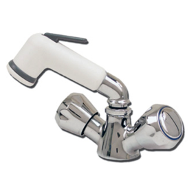 46004 of Scandvik Pull Out Shower Mixer - 46004/5