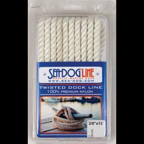 Dock Lines - 3-Strand Twisted Nylon