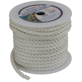 Bulk Cordage - 3-Strand Twisted Nylon Anchor or Dock Rope