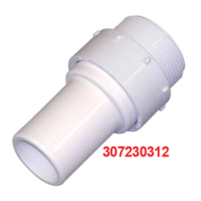 """SeaLand by Dometic PVC Hose Adapter Kit - Connects 1-1/2"""" Hose to 1-1/2"""" Female Tapered Pipe"""