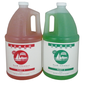 gallon of Semco Teak Products Teak Cleaner - Two Part System