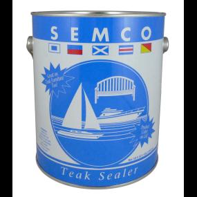 gallon of Semco Teak Products Teak Sealer