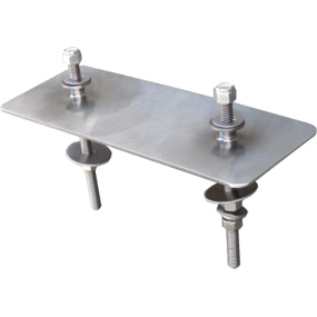 Dry Zinc Anode Plate Mounting System