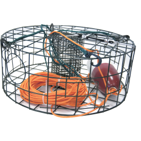 Crab Trap - Round w/ Complete Accessory Kit