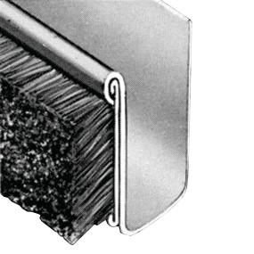 Unbeaded Channel Weatherstrip with Steel Core