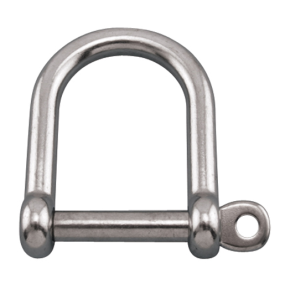 Wide D Shackle w/Screw Pin