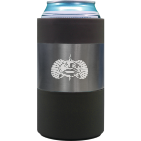 graphite of TOADFISH OUTFITTERS Non-Tipping Can Cooler