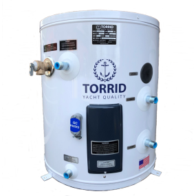 10 gal of Torrid MVW 10 IX Marine Vertical Water Heater - 10 Gallons