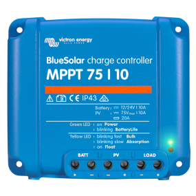BlueSolar MPPT Charge Controller - 75/10