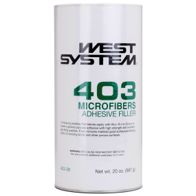 20oz of West System West System 403 Microfibers Epoxy Resin Filler