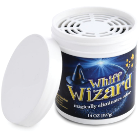 Whiff Wizard Odor Neutralizer with Activated Charcoal
