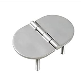 61137s of White Water Marine Hardware Cast Oval Hinge