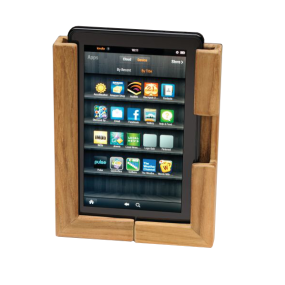 65856 of Whitecap Industries Teak Adjustable Tablet Holder