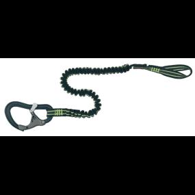 Wichard ProLine Tether - 1 Safety Snap Hook, Elastic, 1.40 m