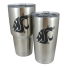 Rambler Insulated Tumblers - with WSU Logo, 20 or 30 oz Sizes 1