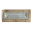 "Rabetted Bronze Rectangular Deck Prism - 4-7/8"" x 10-1/4"" Overall 1"