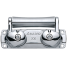 3-Way Roller - Stainless Steel 4
