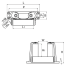 Deck End Roller - Stainless Steel 3