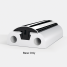 binoX 50 Stainless Steel Rubrail - White PVC Base Component