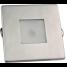 """2-3/4"""" Indoor/Outdoor Recessed Mount LED Light - Square Trim 2"""
