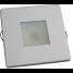 """2-3/4"""" Indoor/Outdoor Recessed Mount LED Light - Square Trim 3"""
