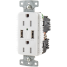 Duplex Receptacle with Dual USB Charging Ports 3