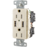 Duplex Receptacle with Dual USB Charging Ports 4