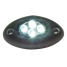 BLACK SURFACE LIGHT 4 AMBER LED