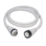 50 Amp 125/250V Power Cord Plus Cordsets - White 1