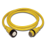 50 Amp 125V Power Cord Plus Cordsets - Yellow 1