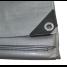 Silver UV-Resistant Poly Tarps - 10 Mil Heavy Duty 2