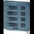 WeatherDeck Water Resistant Panels, 4 Position Breaker Panel Gray