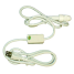 Rope Lighting Components, 6' Power Cord