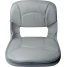 Low Back All-Weather Quick Disconnect Boat Seat & Cushion Combo - Gray 3