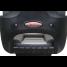Elite Helm Seat High Back Boat Seat - Black Shell - Charcoal/Gray Cushion 2