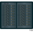 360 Panel System DC Breakers No Meters - 12 Positions, Rocker
