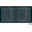 360 Panel Systems DC - 8 Positions with Digital Multimeter, Rocker