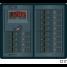 360 Panel System 120V AC/12V DC Circuit Breakers, AC & DC Digital Meters (1 x 30A AC, 1 x 100A DC)