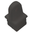 BLY NYL TUBE TOP INSERT 7/8IN SQR TUBE