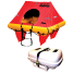COASTAL ELITE 4C LIFE RAFT