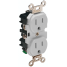 15A 125V GRY STRAIGHT BLADE RECEPTACLE