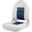 High Back NaviStyle Boat Seat - White/Blue 1