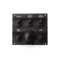 Five Toggle Switch Panel With Power Socket